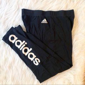 Adidas Logo Leggings L